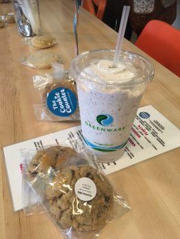 The Cookie Counter Vegan Oreo Ice Cream Shake & Cookies