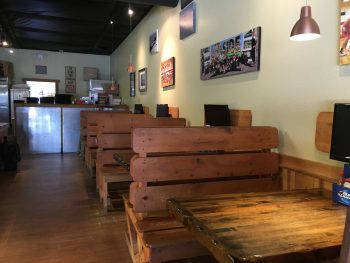 Dundee's Donuts Rustic Seating