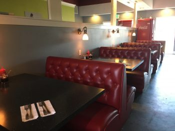 Firehouse Grill Booth Seating