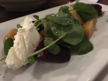 Rock and Rye Roasted Beet Salad