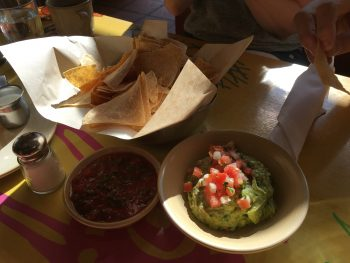 Cactus Madison Park Chips Salsa Guacamole