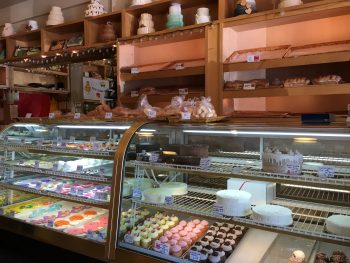 Madison Park Bakery First Pastry Case