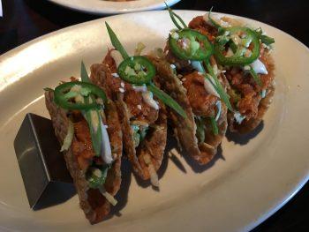 Scotty Browns Spicy Tuna Tacos