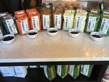 Caffe Umbria Ballard Bean Smelling Station