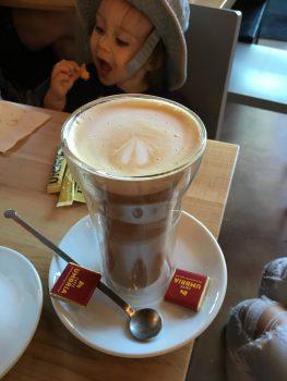 Caffe Umbria Ballard Hazelnut Latte