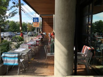 Portage Bay Cafe Roosevelt Patio