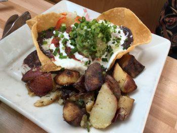 Portage Bay Cafe Roosevelt Huevos Rancheros Veg
