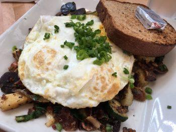 Portage Bay Cafe Roosevelt Farmer's Hash Closer