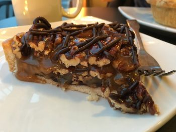 A La Mode Pies Chocolate Caramel Pecan Pie