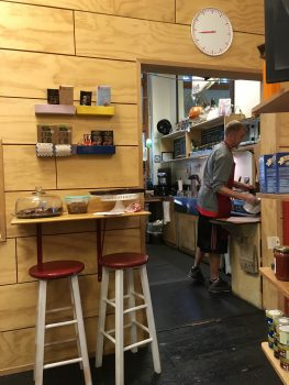Cafe Suisse Stools and Mini Barquette