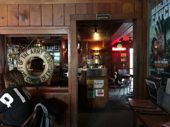 The Lockspot Cafe Doorway to Bar