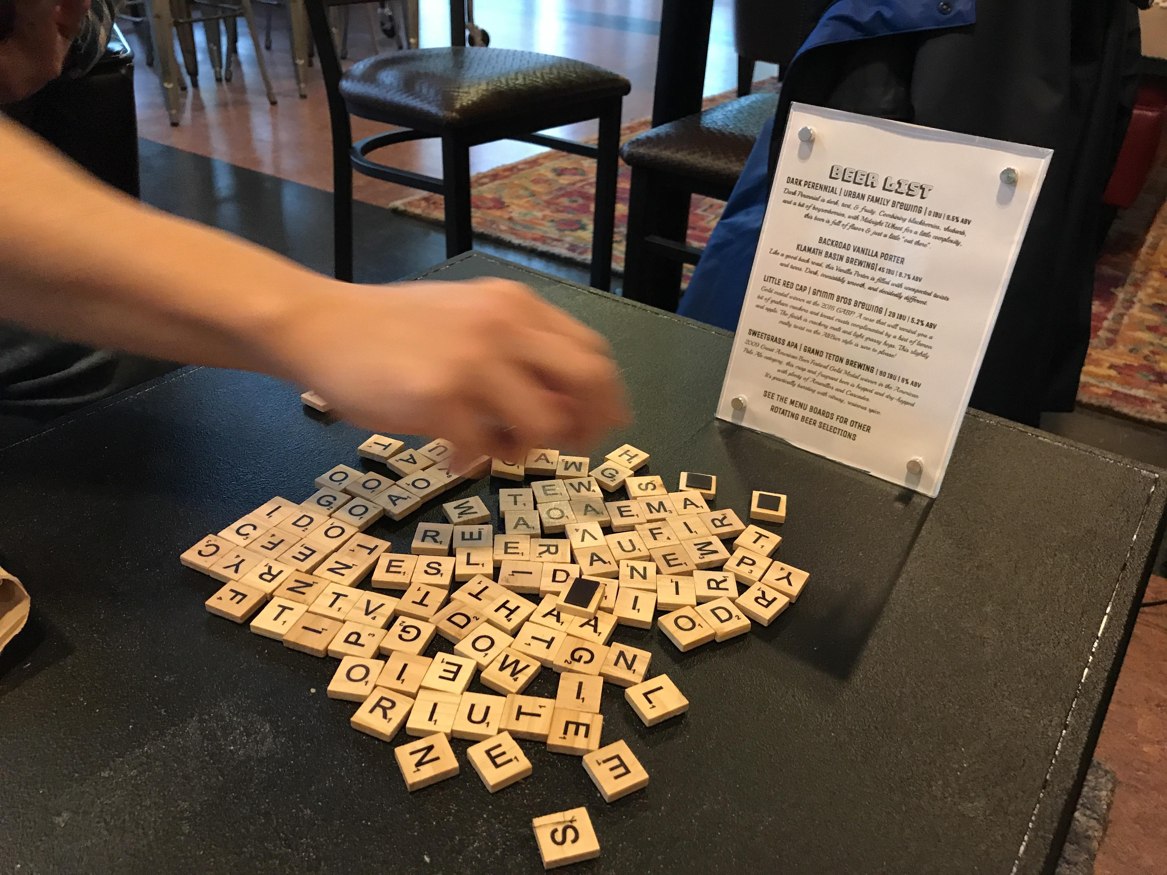 Surprising Stagedoor Cafe Scrabble Coffee Table Mojdeh Sami Uwap Interior Chair Design Uwaporg